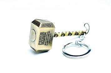 suryastores thor hammer keychain thor metal keychain thor golden