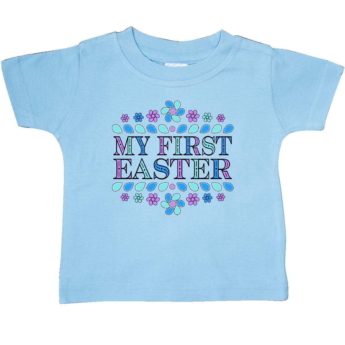 inktastic My First Easter Flower Petals Baby T-Shirt