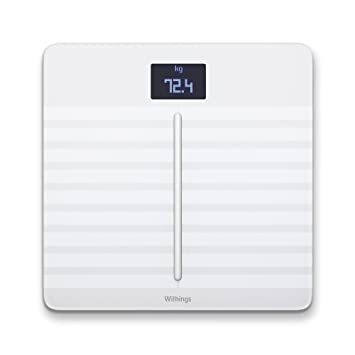 Withings Body Cardio Heart Health and Body Composition Wi-fi Scale, 5.7 Pound