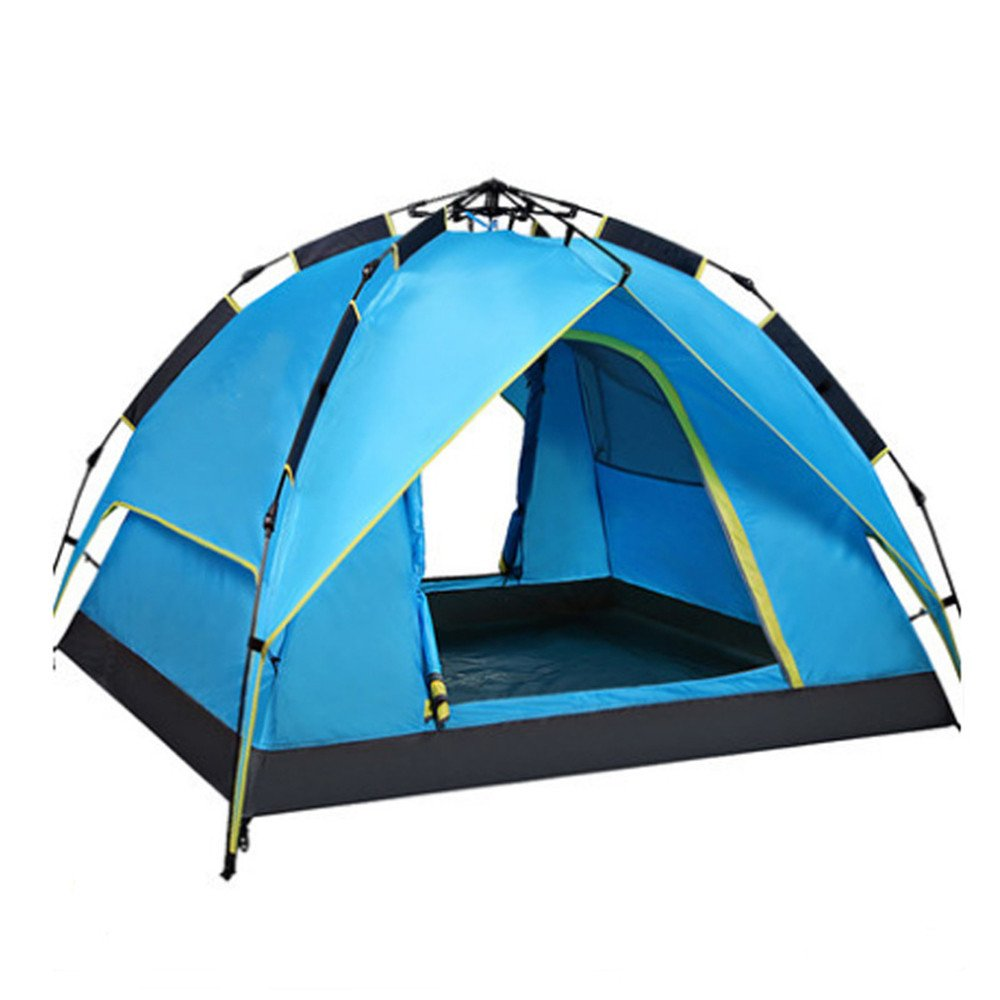 HONEYY Outdoor Zelte_ Doppel Outdoor voll-automatischen 2 Personen Zelt Camping Outdoor Single Person Familien Zelte 215  215  135 cm