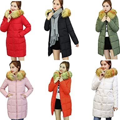 Amazon.com: DICPOLIA Women Coat,Fashion Warm Elegant Long ...
