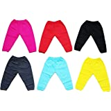 First Touch baby kids pajama,track pant, lowers(Pack of 6) (Multi Colour) save girl child