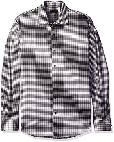 - Van Heusen Men's Flex Long Sleeve Stretch Shirt, Grey Dark Shadow, X-Large