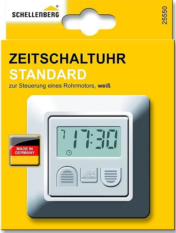 Simu Relax Rollladen Zeitschaltuhr Rolladen Antrieb Motor Steuerung schwarz