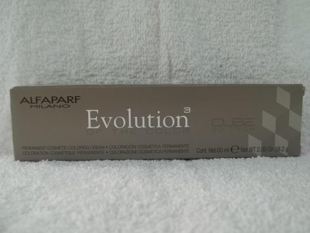 Amazon Alfaparf Evolution Cube 3d Tech Permanent Hair Color