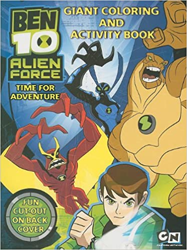 Ben 10 Giant Coloring Activity Book Time For Adventure Ben 10 Alien Force Modern Publishing Modern Publishing Modern Publishing 9780766630697 Amazon Com Books