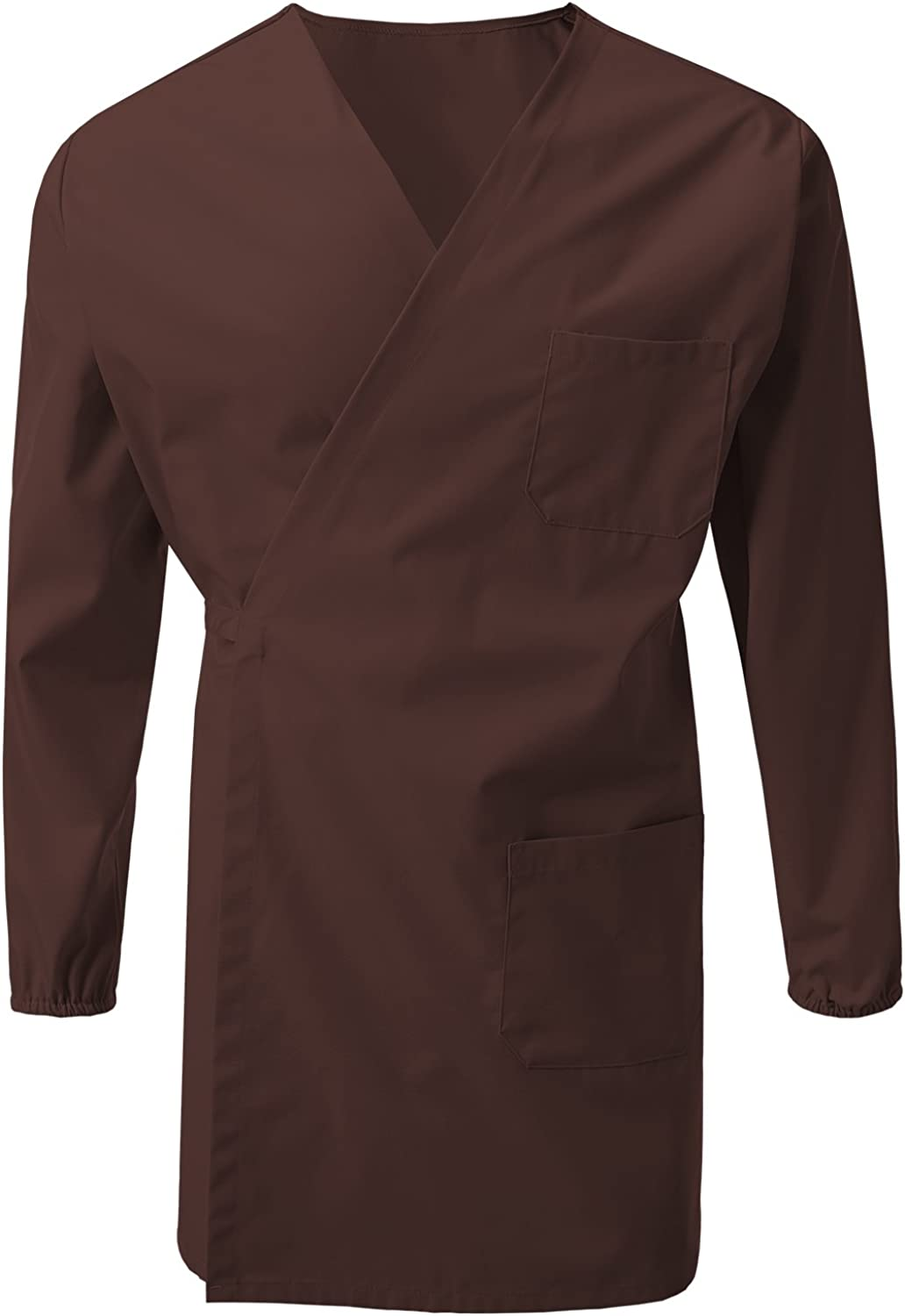 7 Encounter Unisex Multifunctional Wrap Smock with Chest and Side Pockets