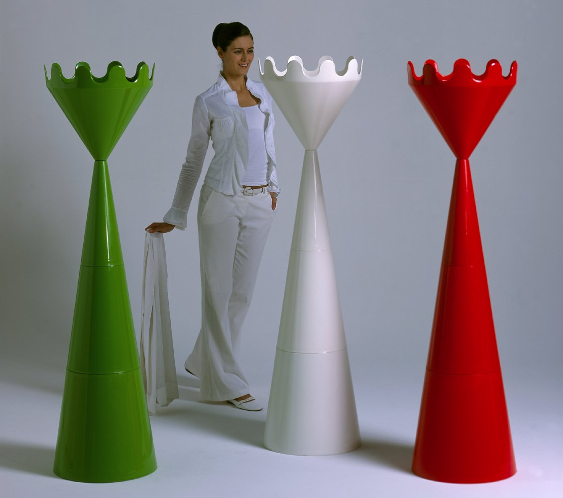 Scacco Matto RED Coat stand Made in Italy by Servettocose