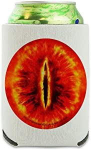 Lord of the Rings Eye of Sauron Can Cooler - Drink Sleeve Hugger Collapsible Insulator - Beverage Insulated Holder