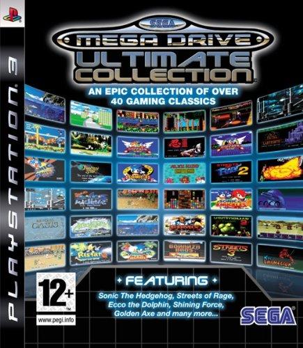 SEGA Mega Drive Collection Playstation 3