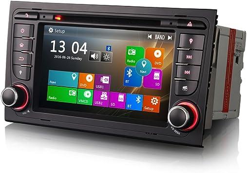 Erisin 7 Zoll Autoradio Autoradio Mit Gps Navigation Navi Hd 1080p 3g Bluetooth Usb Sd Auto Dvr Rds Auto