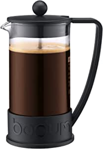 Bodum Coffee Maker Brazil French Press, Black, 10938-01