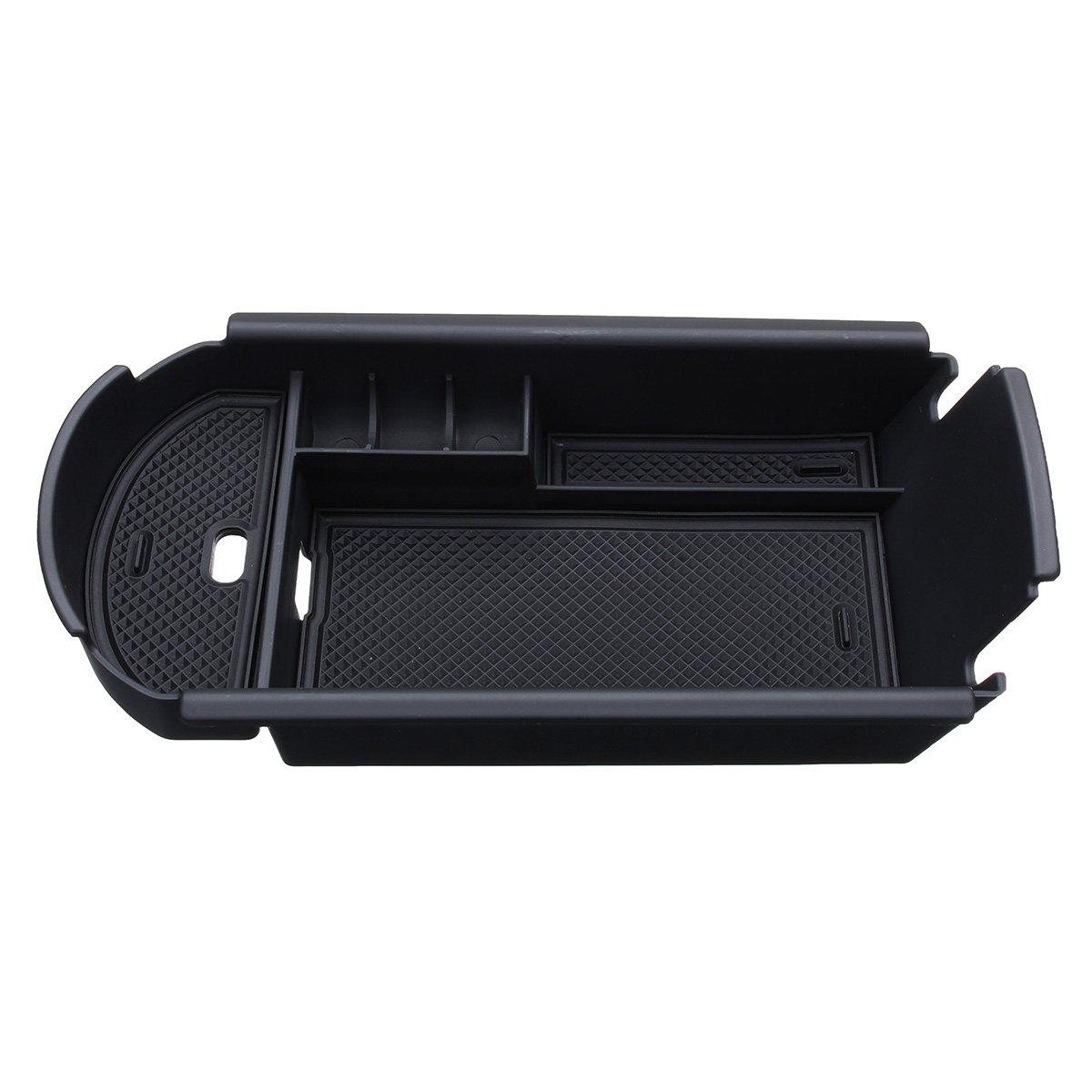 bianca Accessorio Auto,Central Console Box bracciolo su Misura vano portaoggetti Console Storage Box Inserto Vassoio