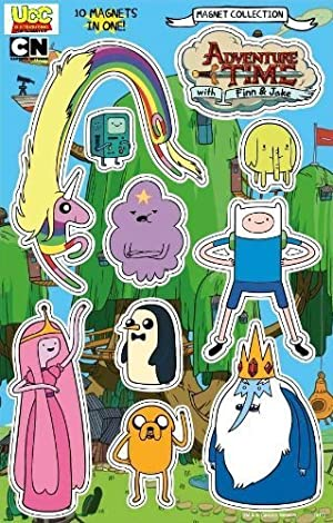 Adventure Time Magnet Collection Set 10Pack by Adventure Time with Finn & Jake