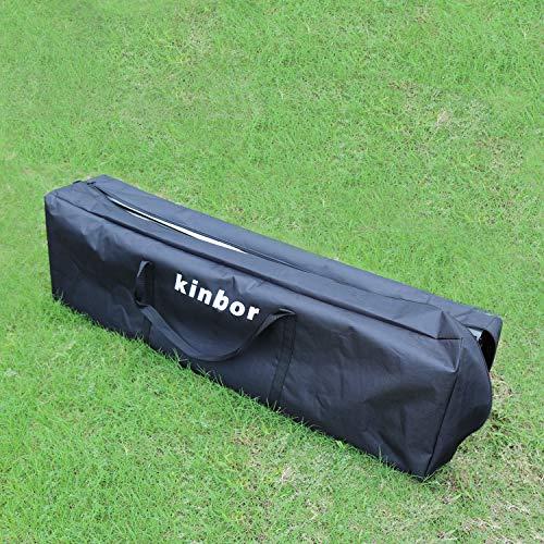 Kinbor Outdoor Portable Adjustable Instant Pop Up Gazebo Canopy Tent by Kinbor (Image #5)