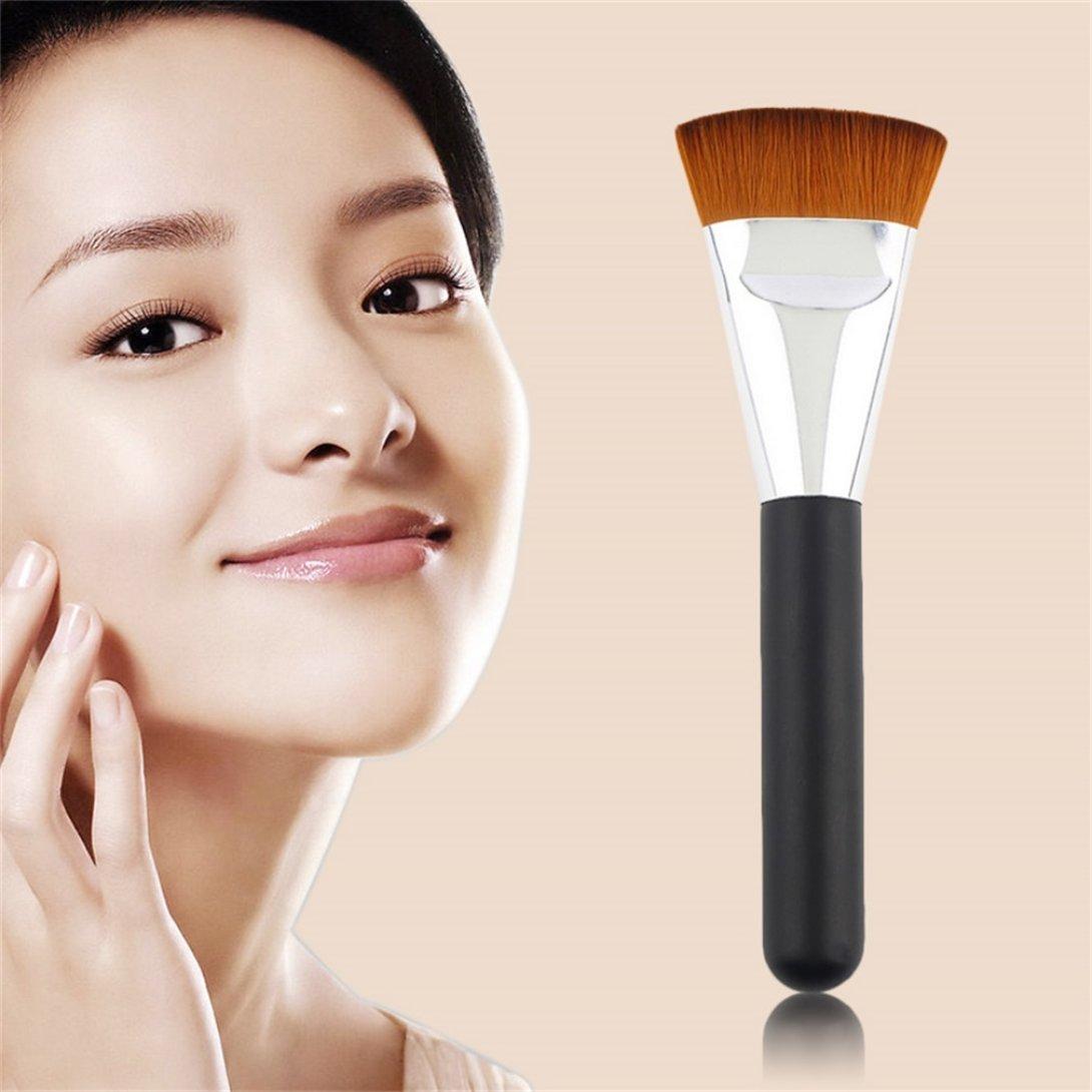 Baynne Professional Cosmetic Flat Contour Big Brush Face Blend Makeup Brush