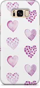 Samsung S8 Case Cute Lovely Heart Pattern Great For Girls Scratch Resistant Protective Samsung S8 Cover Wrap Around 48