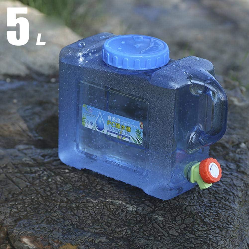 Eayse wasserkanister Tragbarer wassertank mit Deckel Zapfen,5L 8L Wasserbeh/älter f/ür Fahrzeug Camping Picknick Outdoor BBQ und Lange Reise