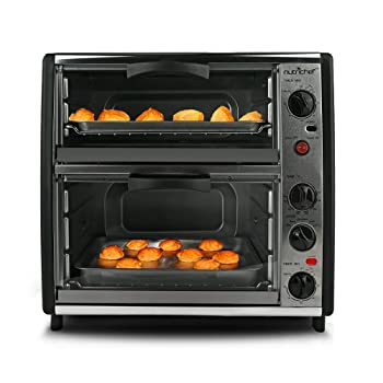 NutriChef PKMFTO26 Multi-Function Dual Rotisserie Oven