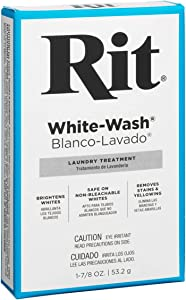 Dye Powdered Fabric Dye, White Wash, 1 7/8-Ounce
