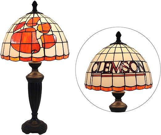 Lámparas De Mesa Estilo Tiffany Lámpara Vintage Simple De Vidrio ...