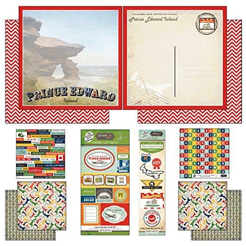 - Scrapbook Customs Prince Edward Island Vintage Scrapbook Kit