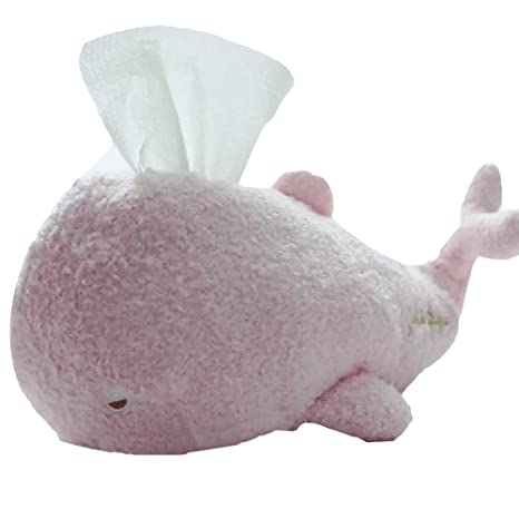 sweetdecor caja toallas de papel caja de pañuelos con forma de dibujos animados de suave de