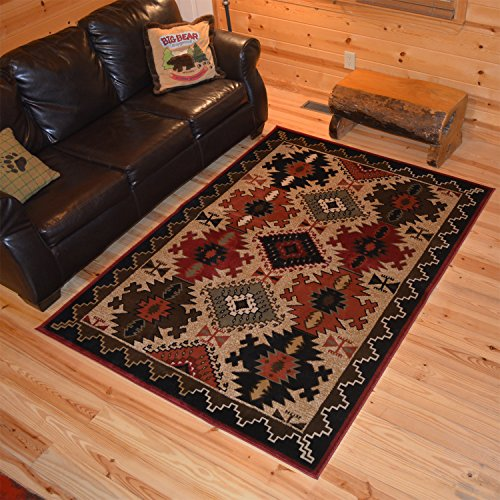 (Rug Empire Rustic Lodge Southwest Southwestern Area Rug, 26