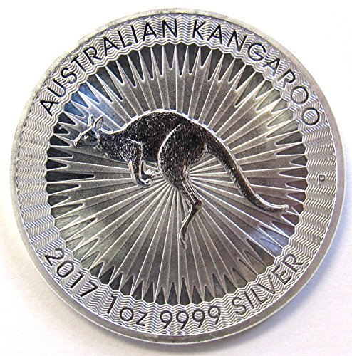 - 2017 AU Australia Silver Kangaroo (1 oz) $1 Brilliant Uncirculated Perth Mint