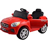 Costzon Red 6V Kids Ride On Car RC Remote Control Battery Powered w/ LED Lights MP3 Red