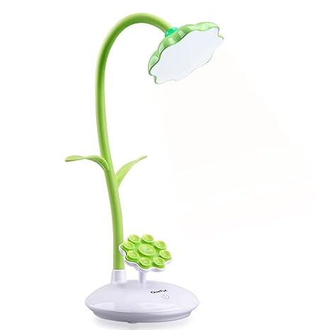 Neuo dimmbare LED Schreibtischlampe für Kinder Nachttischlampe mit Touchsenso