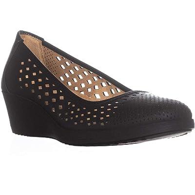 Naturalizer Women's Brina Laser Cut Wedge Pump | Shoes