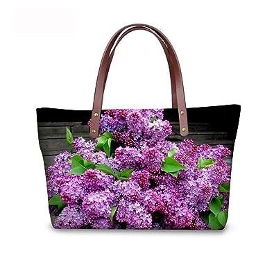 Noisydesigns women handbags casual large women s shoulder bag flower ...