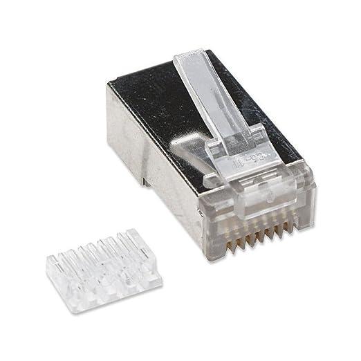 4 opinioni per Plug cat. 6 RJ45 per cavo STP cat. 6