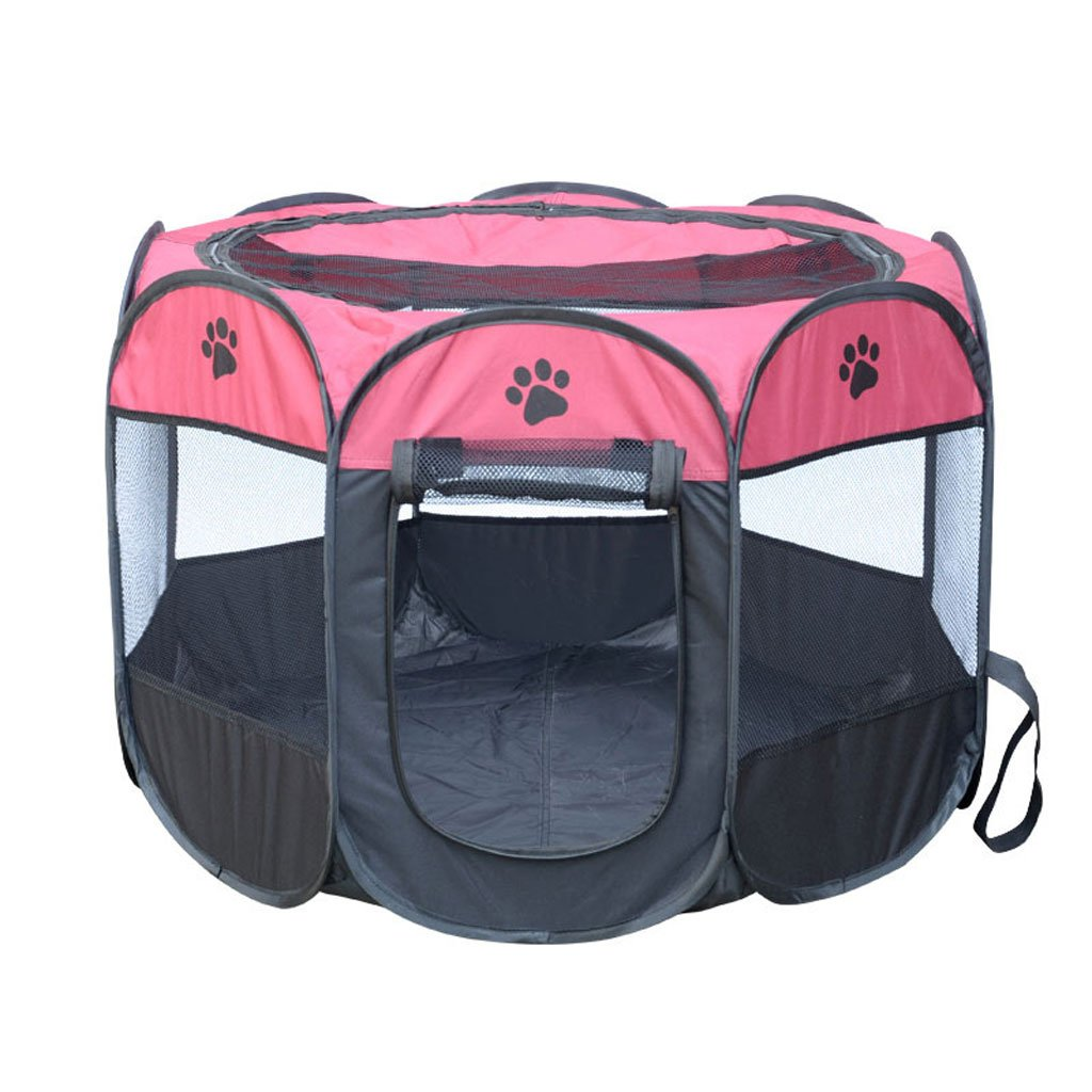 E M E M GHMM Pet Bed Oxford Cloth Dog House Spring And Summer Universal Non-slip Soft Comfortable Cool Breathable And Durable Pet bed (color   E, Size   M)