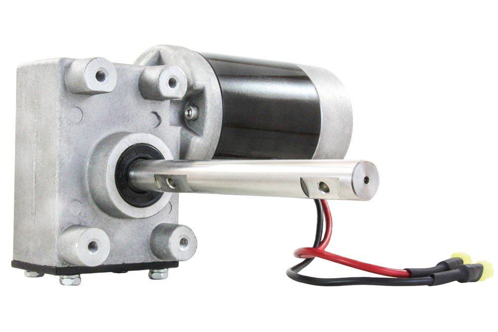 NEW 12V REVERSIBLE SALT SPREADER MOTOR AND GEAR BOX COMBO FIT SNOW-EX SP3000 SP6000 SP8000 CURTIS MEYER LESCO TRYNEX SNOWEX 575 1075 BI-DIRECTIONAL KIT D6106 D6107 D6107-06 D610706 by Rareelectrical
