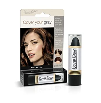 Cover Your Gray Hair Color Touch-Up Stick - Black