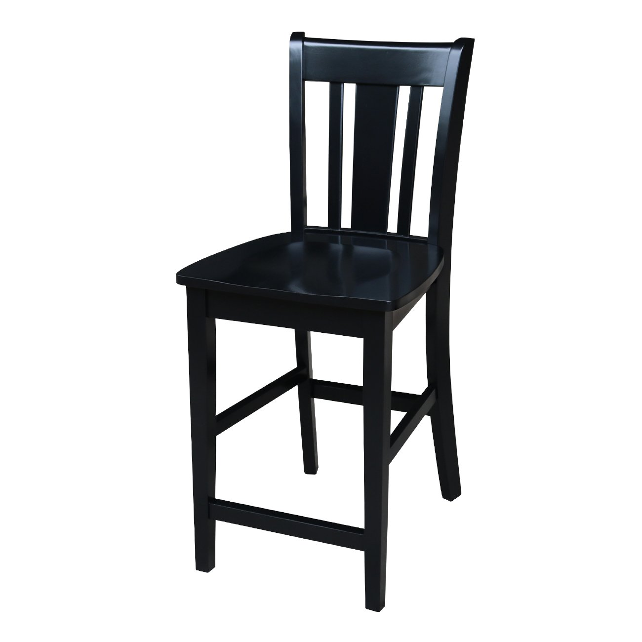 Awesome International Concepts San Remo Counter Height Stool 24 Inch Black Finish Caraccident5 Cool Chair Designs And Ideas Caraccident5Info