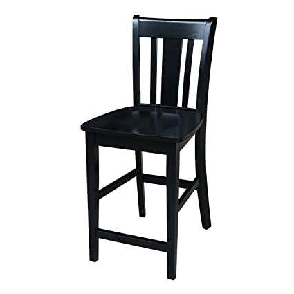 Amazoncom International Concepts San Remo Counter Height Stool 24