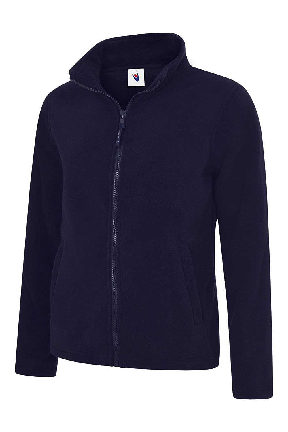 TALLA Medium. Uneek clothing-Womens-Ladies clásico Cremallera Completa Chaqueta de Forro Polar