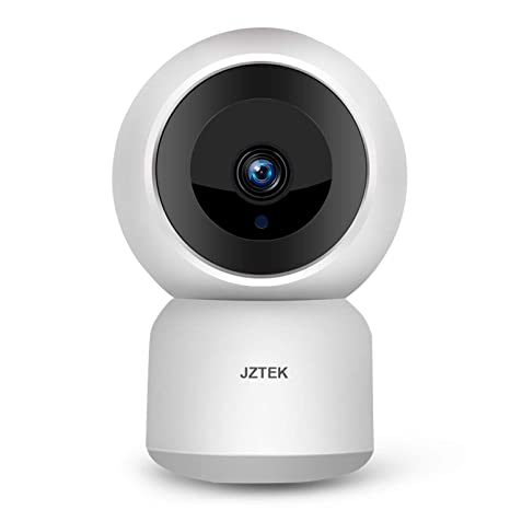 WiFi Dog IP Camera 1080P, JZTEK Smart Wireless Cam Pan/Tilt/Zoom with Cloud  Service 3D Image Touch Navigation Panoramic View Night Vision, Two-Way