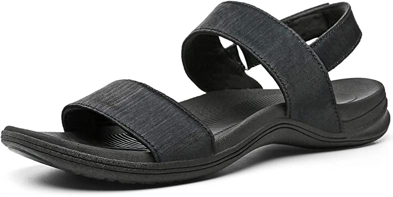 Amazon.com | MEGNYA Women's Outdoor Sports Sandals, Athletic Walking Sandals  with Adjustable Velcro Strap, Comfortable Water Shoes for Hiking, Camping,  Trekking | Sport Sandals & Slides