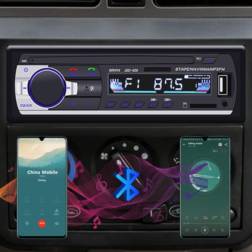 Autoradio Bluetooth Yykj 1 Din Autoradio Audio Single Elektronik