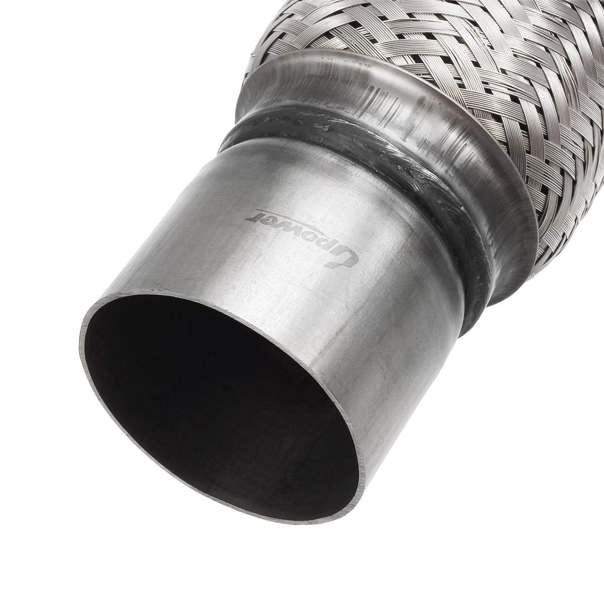 """Exhaust Flex Pipe Stainless Steel Double Braid Heavy Duty Tube 3/"""" x 6/"""" US"""