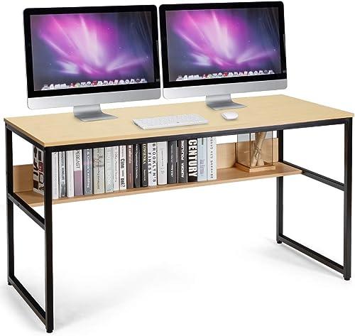 Tangkula 55 Inches Writing Computer Desk