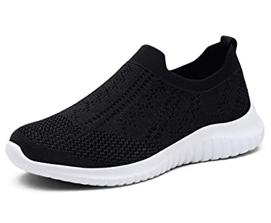TIOSEBON Damenschuhe Trainers Slip On Lightweight Casual Walking Mesh Walking Casual ... 2b95fe