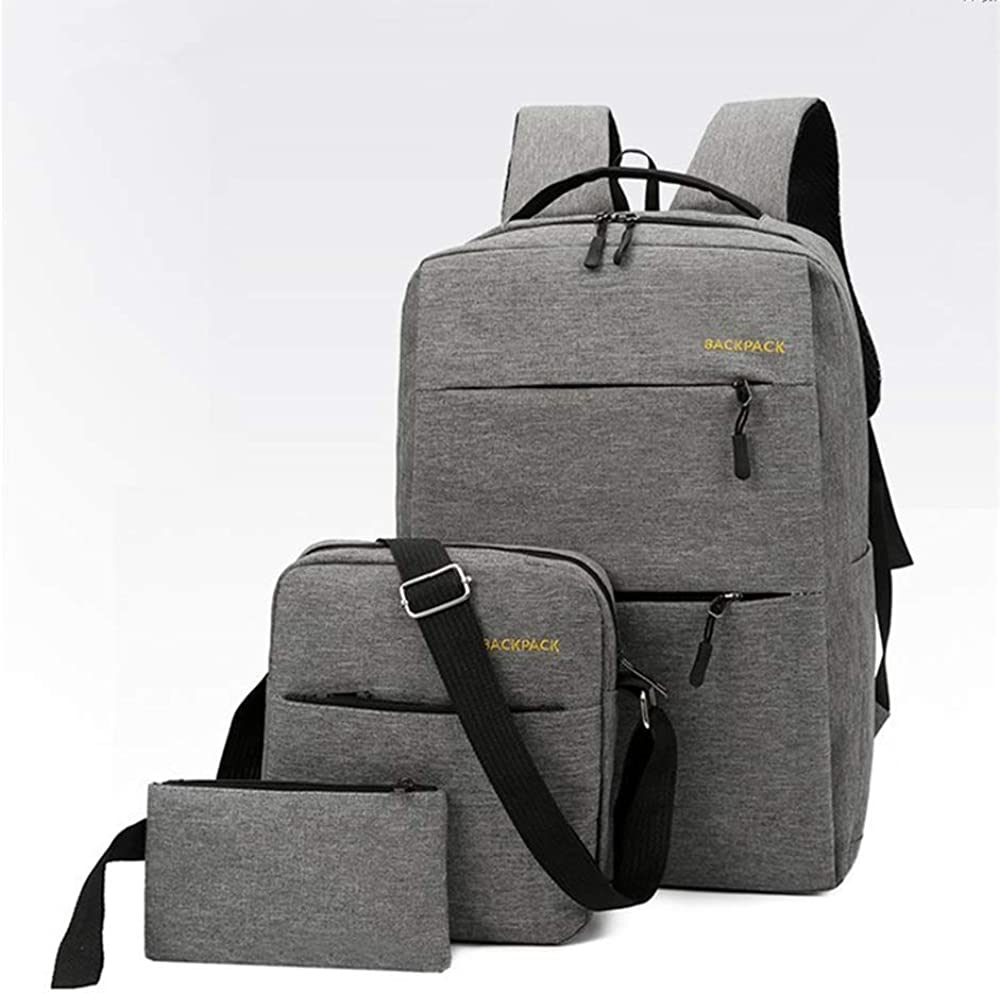 Laptop Backpack for Man Women Fashion Travel Bags Business Computer Purse Work Bag with USB Port