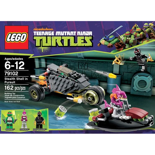 Amazon.com : LEGO Ninja Turtles Stealth Shell in Pursuit ...
