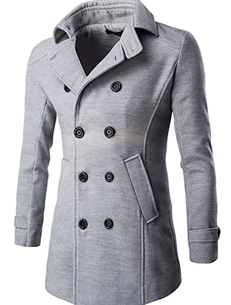 CeRui Chaqueta Abrigos Chaqueta Hombres Jacket Outerwear Tops Blazer L Gris claro: Amazon.es: Ropa y accesorios