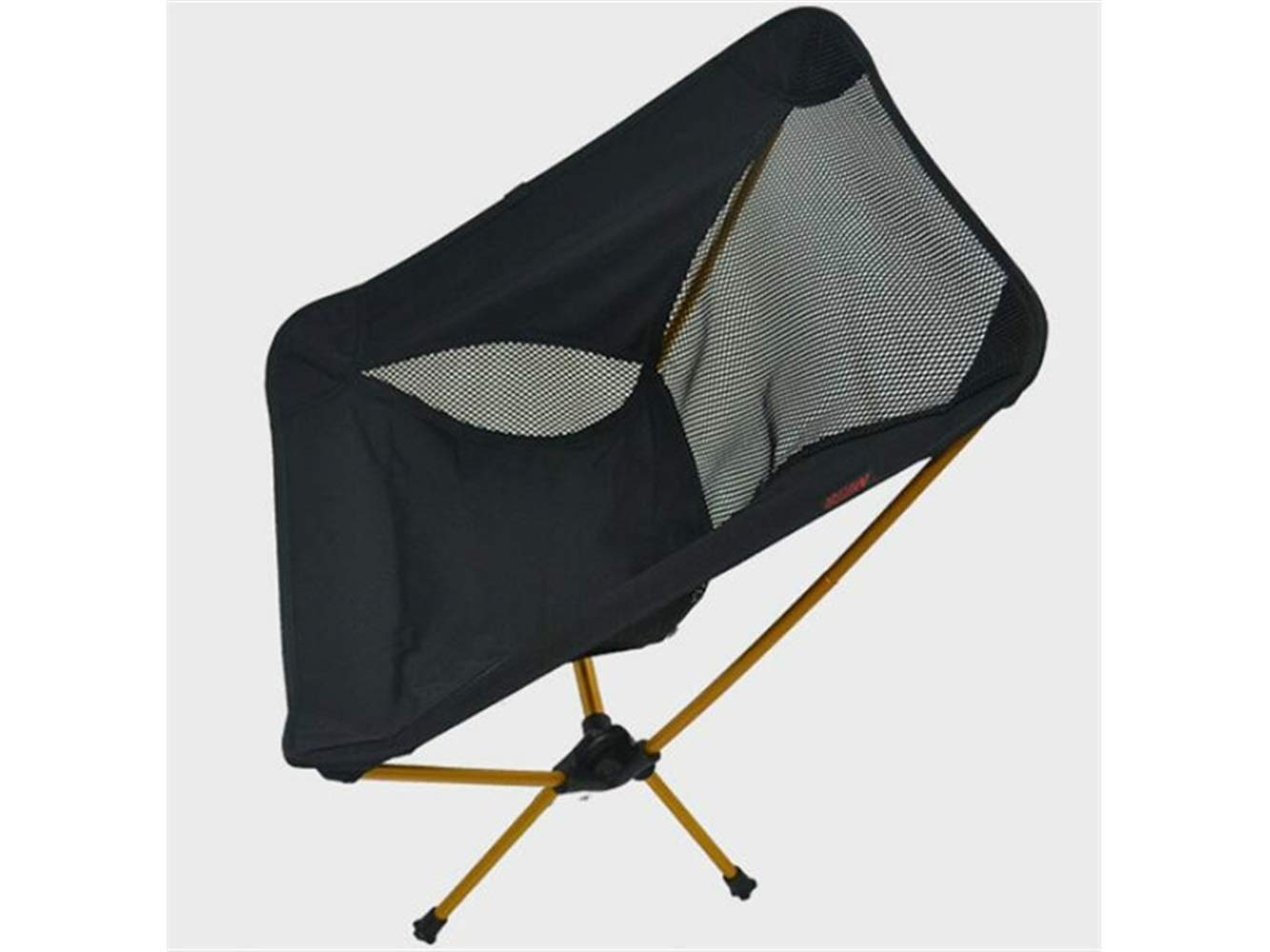 LMKIJN Bequemer Stuhl Tragbare Klapp Angeln Stuhl Liege Camping Stuhl für Outdoor und Angeln (schwarz) für den Urlaub